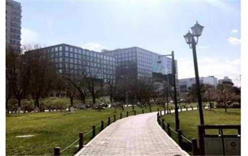 哈德门广场外观